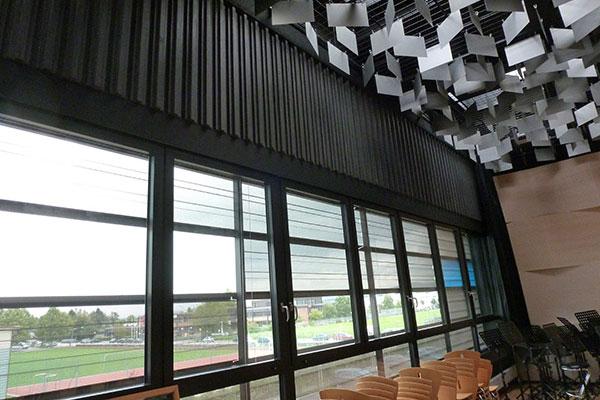 Josef Lehner GmbH Akkustikelemente aus gefärbtem Beton