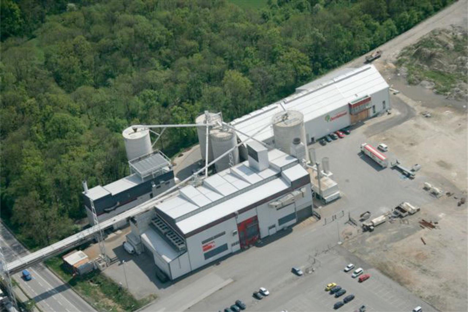 Josef Lehner GmbH Biomasse Heizkraftwerk Ybbs
