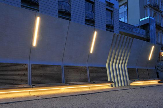 Josef Lehner GmbH Fassadengestaltung in Weißzement