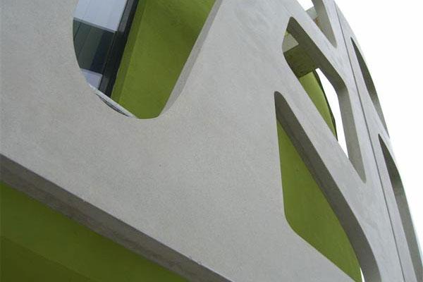 Josef Lehner GmbH Sichtbeton mit Aussparungen